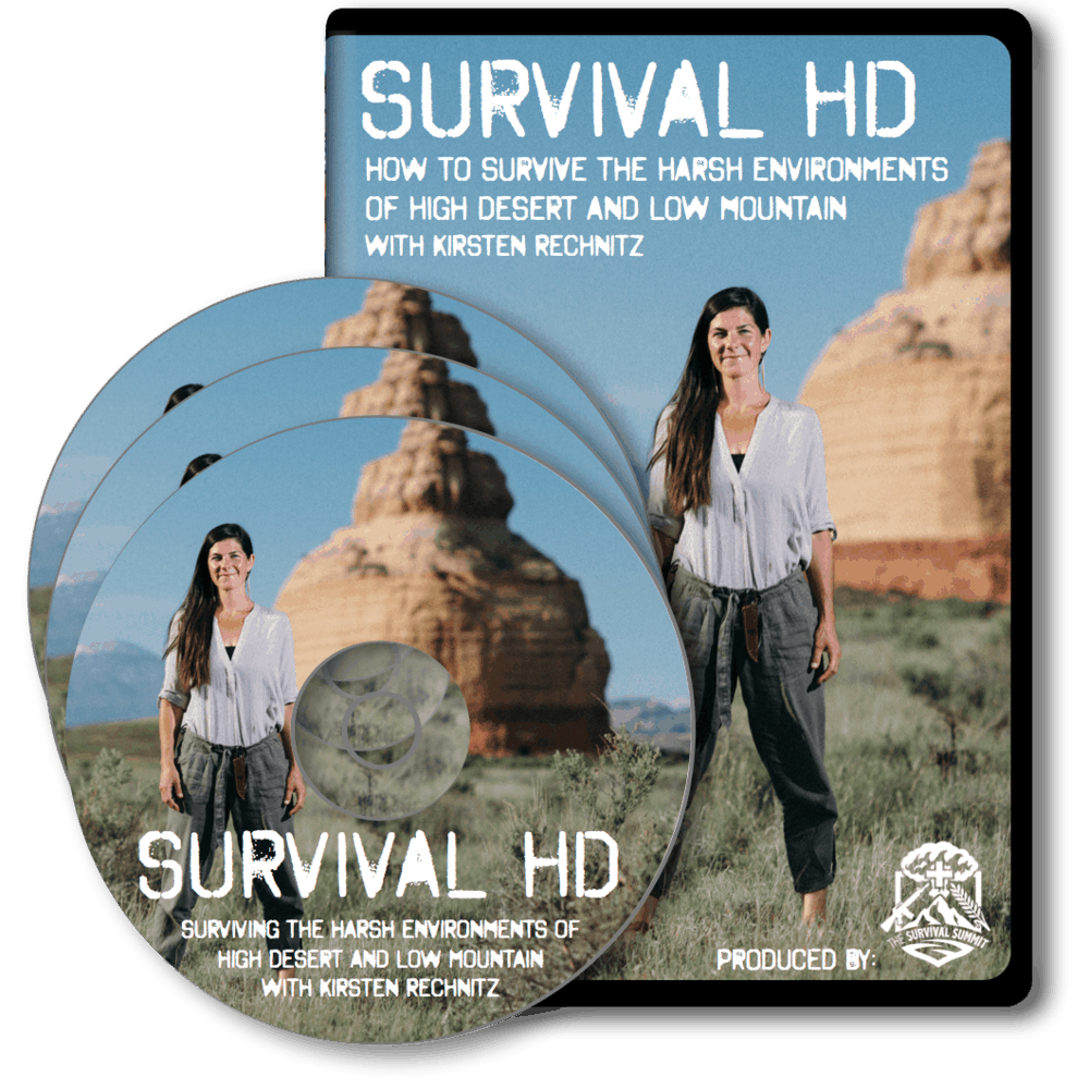Survival HD - How To Survive The Harsh Environments of High Desert and Low Mountains -   Available August 30, 2016!